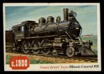 1955 Topps Rails & Sails #65   Casey Jones' Locomotive Front Thumbnail