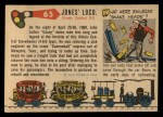 1955 Topps Rails & Sails #65   Casey Jones' Locomotive Back Thumbnail