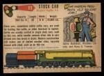 1955 Topps Rails & Sails #11   Stock Car Back Thumbnail