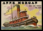 1955 Topps Rails & Sails #145   Anne Morgan Front Thumbnail