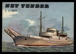 1955 Topps Rails & Sails #157   Net Tender Front Thumbnail