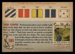 1955 Topps Rails & Sails #181   Tuna Clipper Back Thumbnail
