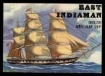 1955 Topps Rails & Sails #146   East Indiaman Front Thumbnail
