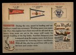 1955 Topps Rails & Sails #161   Freighter Back Thumbnail