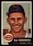 1953 Topps #7  Bob Borkowski  Front Thumbnail