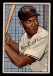 1952 Bowman #162  Monte Irvin  Front Thumbnail
