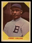 1960 Fleer #25  Jimmy Collins  Front Thumbnail