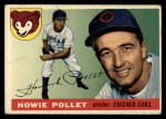1955 Topps #76  Howie Pollet  Front Thumbnail