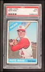 1966 Topps #30  Pete Rose  Front Thumbnail