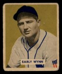 1949 Bowman #110  Early Wynn  Front Thumbnail