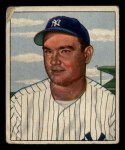 1950 Bowman #139  Johnny Mize  Front Thumbnail