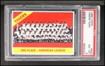 1966 Topps #583   Tigers Team Front Thumbnail