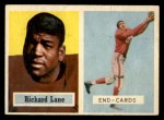 1957 Topps #85  Richard Lane  Front Thumbnail
