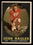 1958 Topps #60  Gern Nagler  Front Thumbnail