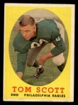 1958 Topps #125  Tom Scott  Front Thumbnail