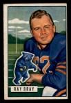 1951 Bowman #50  Ray Bray  Front Thumbnail