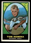 1967 Topps #86  Tom Nomina  Front Thumbnail