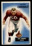 1955 Bowman #27  Jack Simmons  Front Thumbnail