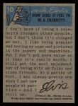 1956 Topps / Bubbles Inc Elvis Presley #10   America's Singing Idol Back Thumbnail