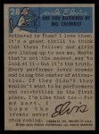 1956 Topps / Bubbles Inc Elvis Presley #28   Acting Outdoors Back Thumbnail