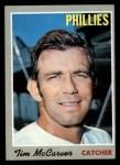 1970 Topps #90  Tim McCarver  Front Thumbnail
