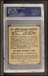 1949 Leaf #11  Phil Rizzuto  Back Thumbnail