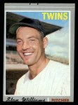 1970 Topps #353  Stan Williams  Front Thumbnail