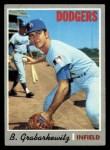 1970 Topps #446  Billy Grabarkewitz  Front Thumbnail