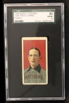 1909 T206 POR Fred Clarke  Front Thumbnail