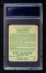 1934 Goudey #17  Hugh Critz  Back Thumbnail