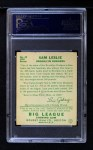 1934 Goudey #49  Sam Leslie  Back Thumbnail