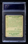 1934 Goudey #54  Wesley Schulmerich  Back Thumbnail
