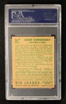 1934 Goudey #85  Adam Comorosky  Back Thumbnail