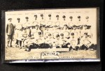 1913 T200 Fatima #11   Cleveland Americans Front Thumbnail