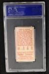 1911 T205 #133  Larry McLean  Back Thumbnail