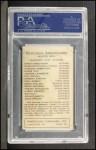 1922 E120 American Caramel  Everett Yaryan  Back Thumbnail