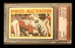 1972 Topps #343   -  Joe Namath Pro Action Front Thumbnail