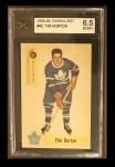 1958 Parkhurst #42  Tim Horton  Front Thumbnail