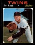 1971 Topps #245  Jim Kaat  Front Thumbnail