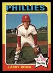 1975 Topps #420  Larry Bowa  Front Thumbnail