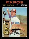 1971 Topps #515  Carl Morton  Front Thumbnail