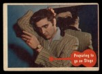 1956 Topps / Bubbles Inc Elvis Presley #45   Preparing to Go on Stage Front Thumbnail