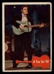 1956 Topps / Bubbles Inc Elvis Presley #20   Tux for TV Front Thumbnail