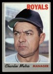 1970 Topps #16  Charlie Metro  Front Thumbnail