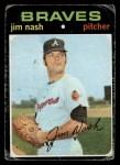 1971 Topps #306 COR Jim Nash   Front Thumbnail