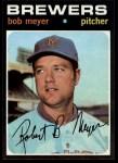 1971 Topps #456  Bob Meyer  Front Thumbnail