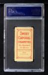1909 T206 #33  Lena Blackburne  Back Thumbnail