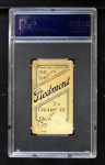 1909 T206 BAT Fred Clarke  Back Thumbnail