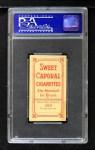 1909 T206  Jimmy Lavender  Back Thumbnail