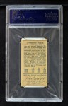 1911 T205  Larry Doyle  Back Thumbnail